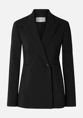 The Row Ciel Wool-blend Crepe Blazer - Black
