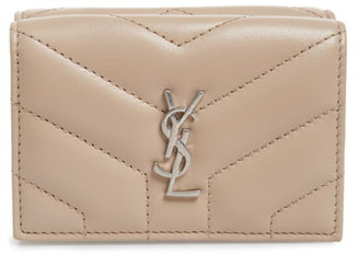Saint Laurent Loulou Matelasse Leather Wallet