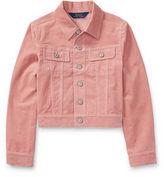Ralph Lauren 7-16 Corduroy Trucker Jacket