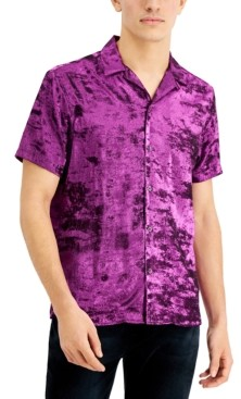 INC International Concepts Inc Men's Ace Metallic Shirt, Created for Macy's