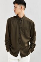 Urban Outfitters Rayon Button-Down Shirt