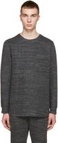 Helmut Lang Grey Melange Pullover