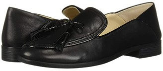 Cole Haan Pinch Soft Tassel Loafer (Black Leather/Patent) Women's Shoes