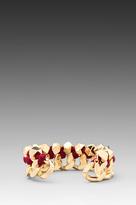 Ettika Gold Link Cuff