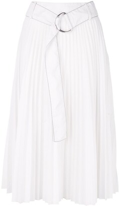 Proenza Schouler White Label PSWL Parachute pleated skirt
