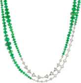 Mariani Emerald Diamond Necklace