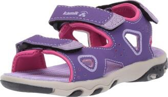 Kamik Girls LOBSTER2 Ankle Strap Sandals Purple (Purple Pur) 4.5 UK