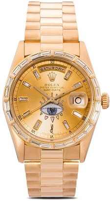 Jacquie Aiche customised Rolex Oyster Perpetual Eye 42mm