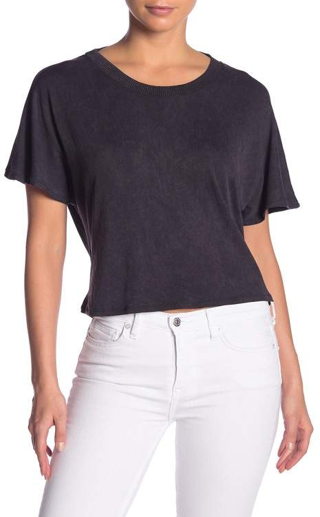 f8963eb39fe Open Back T-shirt - ShopStyle