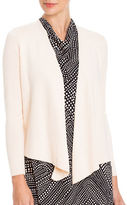 Nic+Zoe Solid Long Sleeve Cardigan