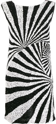 P.A.R.O.S.H. mod-style sequinned dress