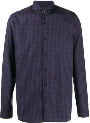 Al Duca D'Aosta 1902 patterned long-sleeved shirt