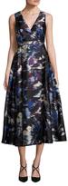 LK Bennett Loena Blurry River A Line Dress