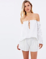 Ela Linen Shorts