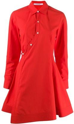 Derek Lam 10 Crosby Poplin Short Dress