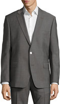 Versace Pinstriped Two-Piece Suit, Gray