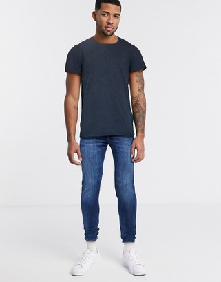Jack and Jones Relaxed dropped hem t-shirt