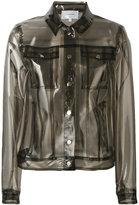 Carven transparent Lola jacket - women - Polyurethane - 36