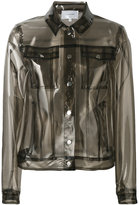 Carven transparent Lola jacket - women - Polyurethane - 38