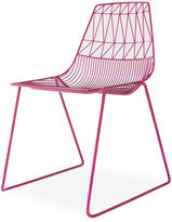 Bend Goods Lucy Stacking Chair, Raspberry