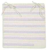 Colonial Mills Ticking Stripe Dining Chair Cushion