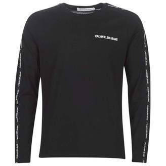Calvin Klein Jeans Men's INSTIT Tape Slim L/S TEE Shirt