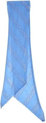 Chloé Blue Cotton Scarves
