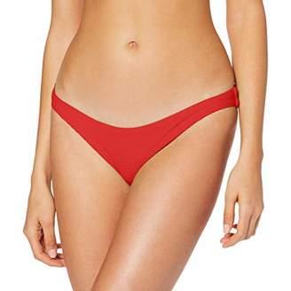 Seafolly Women's Essentials High Cut Bikini Bottoms,8