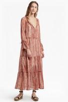 French Connection Malika Sheer Paisley Printed Maxi Dress