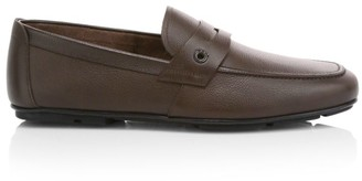 Salvatore Ferragamo Sigfrid Leather Penny Loafers