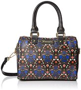 Loungefly LF Bright Sugar Skull Printed Pebble Duffle Convertible Cross-Body