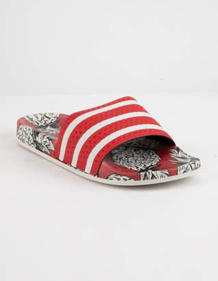 adidas Adilette Scarlet & Off White Womens Slides