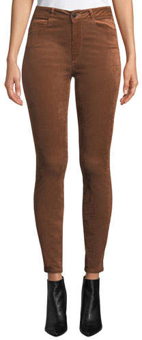 Paige Hoxton Ultra-Skinny Corduroy Jeans