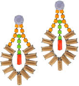 Tom Binns Soft Power Pastel Drop Earrings