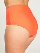 Very Mix & Match High Waist Bikini Brief - Dark Orange