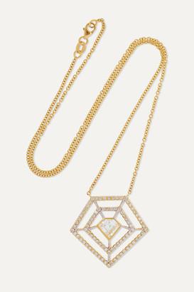 Kimberly Mcdonald McDonald - 18-karat Gold Diamond Necklace - one size