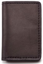 Filson Men's Leather Bifold Card Case - Brown