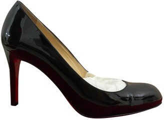 Christian Louboutin Simple pump Black Patent leather Heels