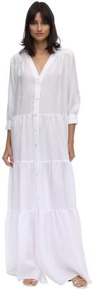 Caftanii Ali Linen Maxi Summer Dress