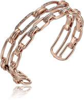 "Michael Kors Brilliance"" Iconic Links -Tone Open Cuff Bracelet"