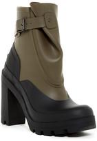 Hunter Ankle Galosh High Heel Boot
