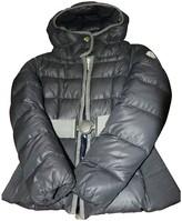 Moncler Hood Blue Synthetic Coats