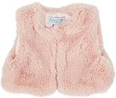 Baby CZ Faux Fur Vest-PINK