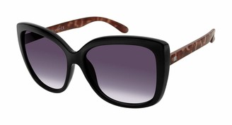 Laundry by Design Women's LD262 Butterfly Sunglasses with 100% UV Protection 58 mm