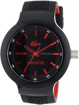 Lacoste Men's Borneo 2010660 Silicone Analog Quartz Watch