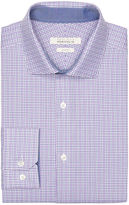 Perry Ellis Slim Fit Sky Check Dress Shirt