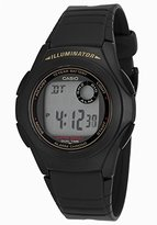 Casio Men's Digital Multi-Function Black Rubber