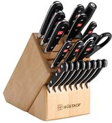 Wusthof Classic 20pc Knife Set w/ Block