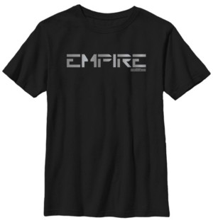 Star Wars Big Boys Jedi Fallen Order Empire Text Short Sleeve T-Shirt