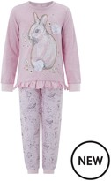 Monsoon Selena Bunny Jersey Pyjamas